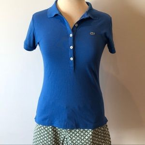 Lacoste tailored polo shirt